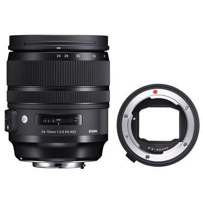 Für weitere Info hier klicken. Artikel: Sigma AF 24-70mm f/2,8 DG OS ART Canon EF + Sigma Mount Converter MC-11 Sony FE-Mount