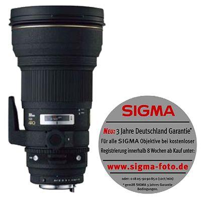 Für weitere Info hier klicken. Artikel: Sigma AF 300mm f/2,8 APO HSM DG Nikon FX