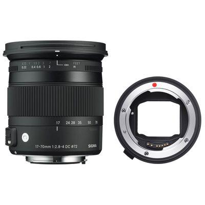 Für weitere Info hier klicken. Artikel: Sigma AF 2,8-4,0/17-70 DC OS HSM C Canon EF-S + Sigma Mount Converter MC-11 Sony FE Mount Sony E-Mount