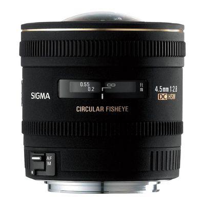Für weitere Info hier klicken. Artikel: Sigma AF 2,8/4,5 DC HSM zirk. Fisheye Canon