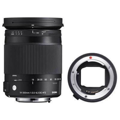 Für weitere Info hier klicken. Artikel: Sigma AF 18-300mm f/3,5-6,3 DC Macro OS HSM C Canon EF-S + Sigma Mount Converter MC-11 Sony FE Mount Sony E-Mount