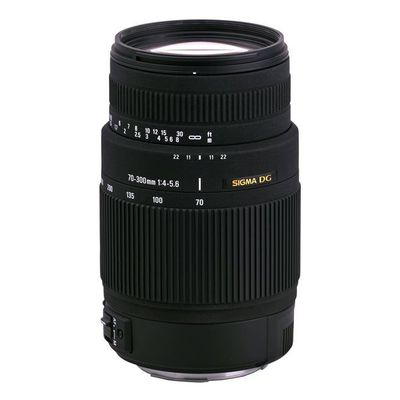 Für weitere Info hier klicken. Artikel: Sigma AF 4,0-5,6/70-300 DG Makro Canon EF