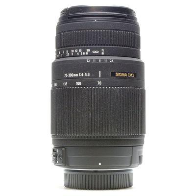Für weitere Info hier klicken. Artikel: Sigma DG 4-5,6/70-300mm OS -G- Nikon FX