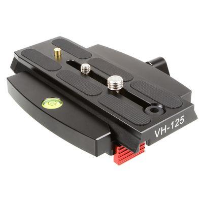 Für weitere Info hier klicken. Artikel: Sirui VH-125 Wechselplatte für VH-Videoköpfe