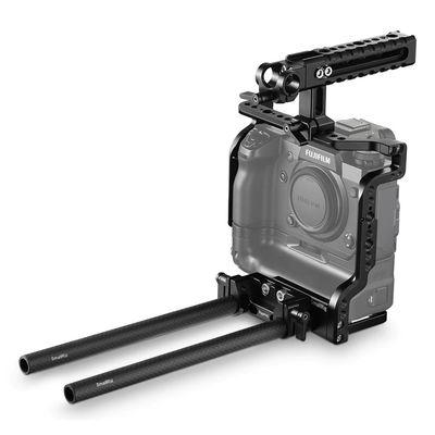 Für weitere Info hier klicken. Artikel: SmallRig Cage Kit für Fujifilm X H1 Camera mit Battery Grip 2136