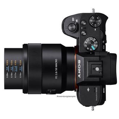 Für weitere Info hier klicken. Artikel: Sony SEL 50mm f/2,8 Makro Sony FE-Mount