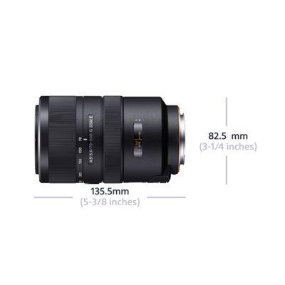 Für weitere Info hier klicken. Artikel: Sony AF 70-300mm f/4,5-5,6 G SSM II Sony A-Mount Vollformat
