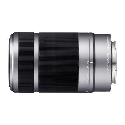 Für weitere Info hier klicken. Artikel: Sony SEL 55-210mm f/4,5-6,3 OSS silber-schwarz Sony E-Mount