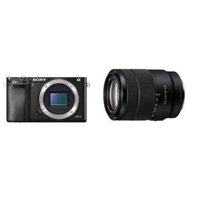 Für weitere Info hier klicken. Artikel: Sony Alpha 6000 (ILCE-6000) + SEL 3,5-5,6/18-135 OS schwarz