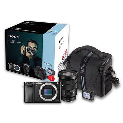 Für weitere Info hier klicken. Artikel: Sony Alpha 6000 (ILCE-6000B) 18-105 PZ Special Edition schwarz