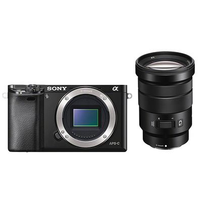 Für weitere Info hier klicken. Artikel: Sony Alpha 6000 (ILCE-6000B) + 18-105mm F/4,0 PZ Special Edition schwarz