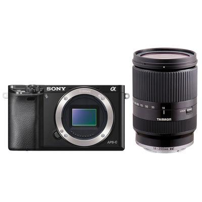 Für weitere Info hier klicken. Artikel: Sony Alpha 6000,Tamron 18-200 Di III schwarz