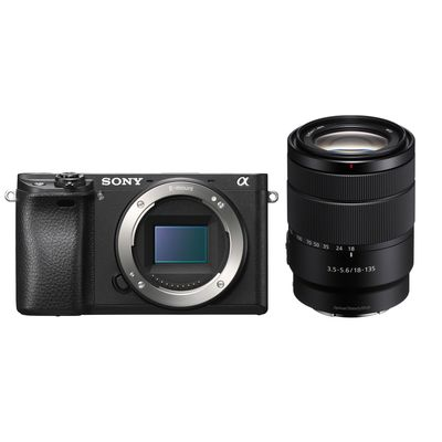 Für weitere Info hier klicken. Artikel: Sony Alpha 6300,AF 3,5-5,6/18-135 OSS schwarz