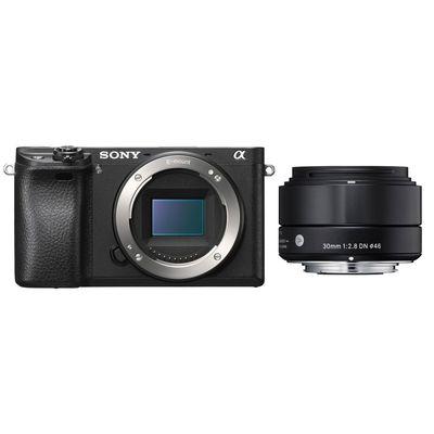Für weitere Info hier klicken. Artikel: Sony Alpha 6300 + Sigma AF 2,8/30 DN A Sony E-Mount