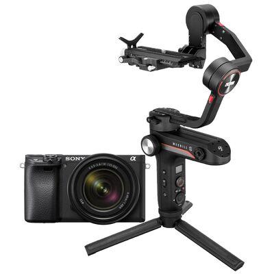 Für weitere Info hier klicken. Artikel: Sony Alpha 6400 (ILCE-6400) + SEL 18-135mm OSS + Zhiyun WEEBILL-S
