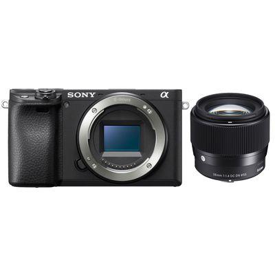 Für weitere Info hier klicken. Artikel: Sony Alpha 6400 (ILCE-6400) + Sigma AF 56mm f/1,4 DC DN C schwarz