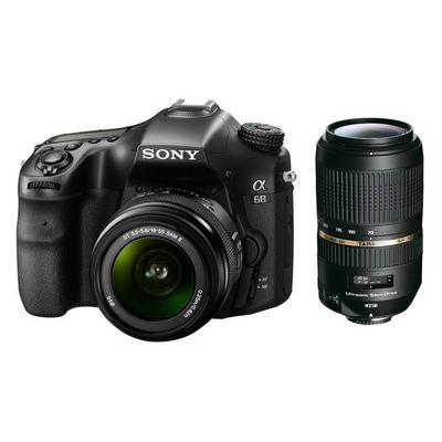 Für weitere Info hier klicken. Artikel: Sony Alpha 68, AF 18-55 II + Tamron AF 4,0-5,6/70-300 Di USD