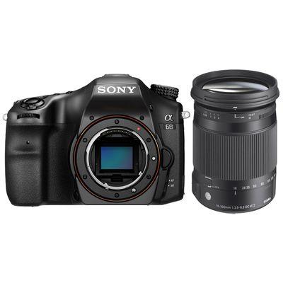 Für weitere Info hier klicken. Artikel: Sony Alpha 68, Sigma 18-300