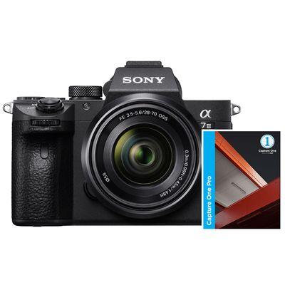 Für weitere Info hier klicken. Artikel: Sony Alpha 7 III (ILCE-7M3) + SEL 28-70mm OSS + Capture One Pro 12 (inkl. Upgrade auf Version 20)