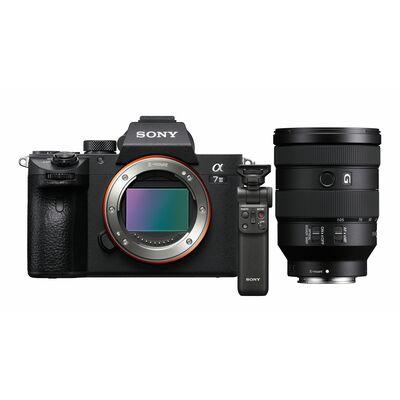 Für weitere Info hier klicken. Artikel: Sony Alpha 7 III (ILCE-7M3) Gehäuse + SEL 24-105mm f/4,0 G OSS + Bluetooth Griff GP-VPT2BT