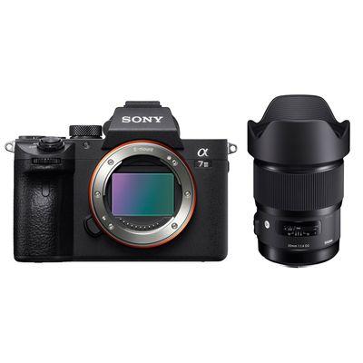 Für weitere Info hier klicken. Artikel: Sony Alpha 7 III (ILCE-7M3) + Sigma AF 1,4/20 DG HSM A