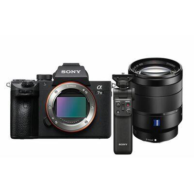 Für weitere Info hier klicken. Artikel: Sony Alpha 7 III (ILCE-7M3) Gehäuse + Zeiss Vario-Tessar T* SEL 24-70mm f/4,0 ZA OSS + Bluetooth Griff GP-VPT2BT