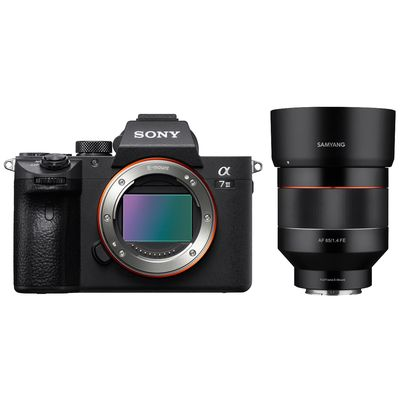 Für weitere Info hier klicken. Artikel: Sony Alpha 7 III (ILCE-7M3) + Samyang AF 85mm f/1.4