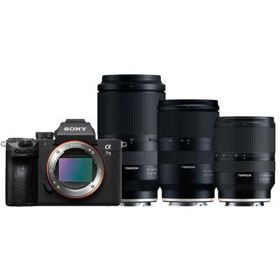 Für weitere Info hier klicken. Artikel: Sony Alpha 7 III (ILCE-7M3) + Tamron Objektivset AF 17-28mm f/2,8 + AF 28-75mm f/2,8 + AF 70-180mm f/2,8