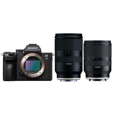 Für weitere Info hier klicken. Artikel: Sony Alpha 7 III (ILCE-7M3) + Tamron Objektivset AF 17-28mm f/2,8 Di III RXD + AF 28-75mm f/2,8 Di III RXD