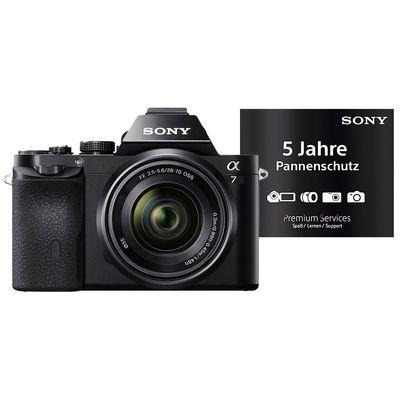 Für weitere Info hier klicken. Artikel: Sony Alpha 7 (ILCE-7) SEL 28-70 FE inkl. 5 Jahre Pannenschutz