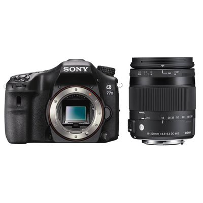 Für weitere Info hier klicken. Artikel: Sony Alpha 77II,Sigma 18-200 DC OS HSM C