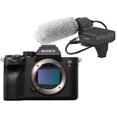 Für weitere Info hier klicken. Artikel: Sony Alpha 7R IV (ILCE-7RM4) + Audio Interface XLR-K3M Adapter-Kit