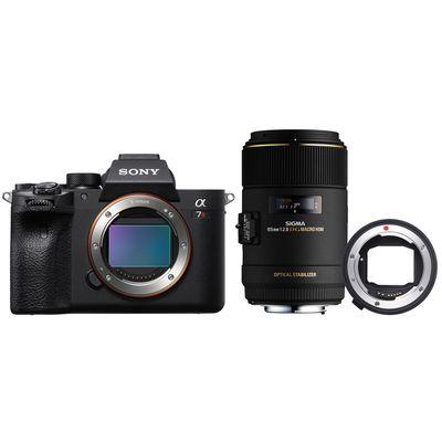 Für weitere Info hier klicken. Artikel: Sony Alpha 7R IV (ILCE-7RM4) + Sigma 105mm f/2,8 EX DG OS HSM Makro für Canon + MC-11 Converter