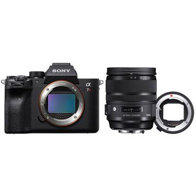 Für weitere Info hier klicken. Artikel: Sony Alpha 7R IV (ILCE-7RM4) + Sigma 24-70mm f/2,8 DG OS A für Canon + MC-11 Converter