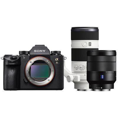 Für weitere Info hier klicken. Artikel: Sony Alpha 9 (ILCE-9) + Zeiss Vario-Tessar T* AF 4,0/24-70 ZA OSS + AF 4,0/70-200 OSS G Sony FE-Mount
