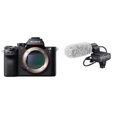 Für weitere Info hier klicken. Artikel: Sony Alpha ILCE-7S II Body + Zubehörkit Kamera mit XLR-K2M Mikrofon-Kit