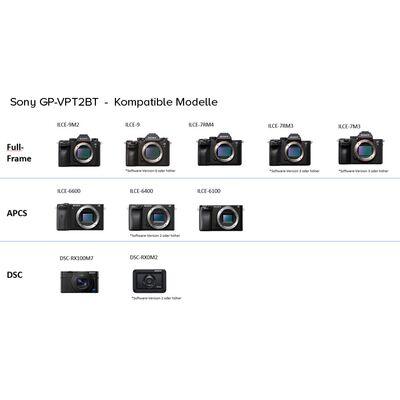 Für weitere Info hier klicken. Artikel: Sony Bluetooth Griff GP-VPT2BT