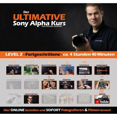 Für weitere Info hier klicken. Artikel: Sony der Ultimative Alpha Kurs Fortgeschritten (Level 2)