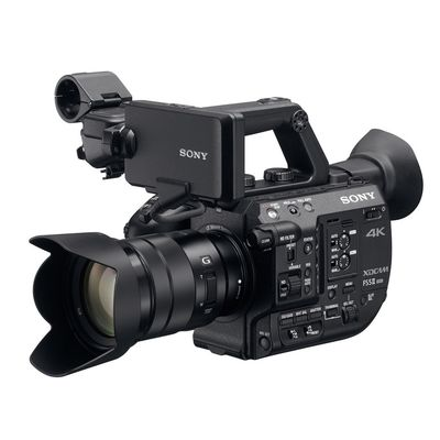 Für weitere Info hier klicken. Artikel: Sony PXW-FS5M2K 4K HDR XDCAM-Kamera SEL P 18-105 G, Camcorder mit E-Mount S.