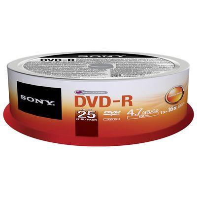 Für weitere Info hier klicken. Artikel: Sony Rohling DVD-R 25er Spindel