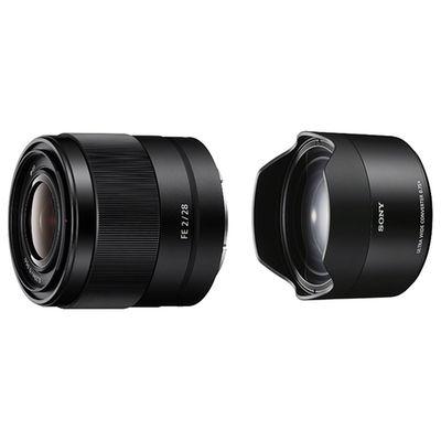 Für weitere Info hier klicken. Artikel: Sony SEL FE 2,0/28 mm inkl. WW-Vorsatzkonverter 0,75