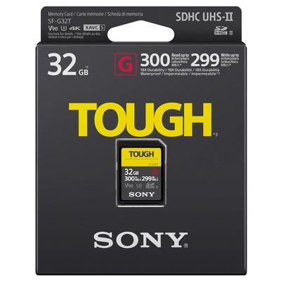 Für weitere Info hier klicken. Artikel: Sony SDHC TOUGH, Class 10, UHS-II, U3, V90, 300 MB/s 32 GB