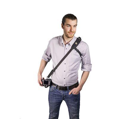 Für weitere Info hier klicken. Artikel: Sun-Sniper STRAP THE ROTABALL-TRAVELER mit ROTABALL Konnektor -, schwarz