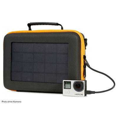 Für weitere Info hier klicken. Artikel: SunnyBAG Solar-Tasche Aufbewahrungscase für Action Cam mit 3,2 Watt monokristallinem Solarpanel