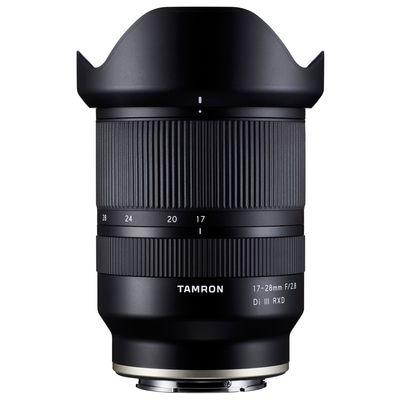 Für weitere Info hier klicken. Artikel: Tamron 17-28mm f/2,8 DI III RXD Sony FE-Mount