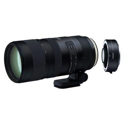 Für weitere Info hier klicken. Artikel: Tamron AF 2,8/70-200 mm Di VC USD G2 SP + Konverter 1,4x Canon EF