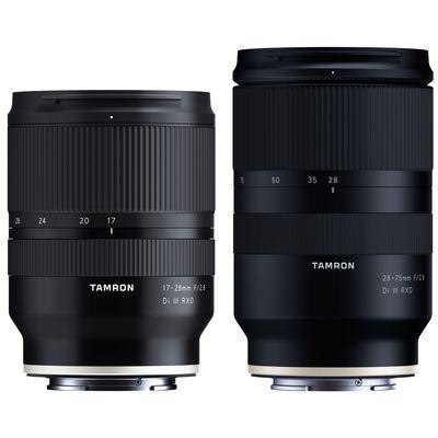 Für weitere Info hier klicken. Artikel: Tamron Objektivset AF 17-28mm f/2,8 Di III RXD + AF 28-75mm f/2,8 Di III RXD Sony FE-Mount
