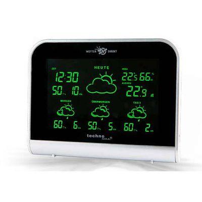 Für weitere Info hier klicken. Artikel: Technoline Wetterdirektstation mit 4 Tage Vorhersage schwarz