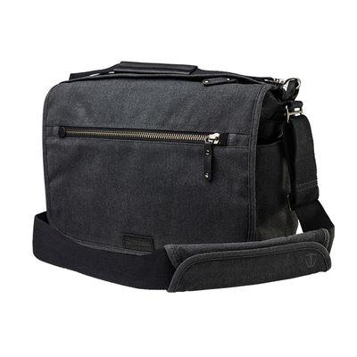 Für weitere Info hier klicken. Artikel: Tenba Tasche Cooper 13 DSLR Camera Bag Grey Canvas - Black Leather
