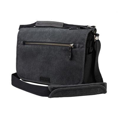 Für weitere Info hier klicken. Artikel: Tenba Tasche Cooper 13 Slim Camera Bag Grey Canvas - Black Leather